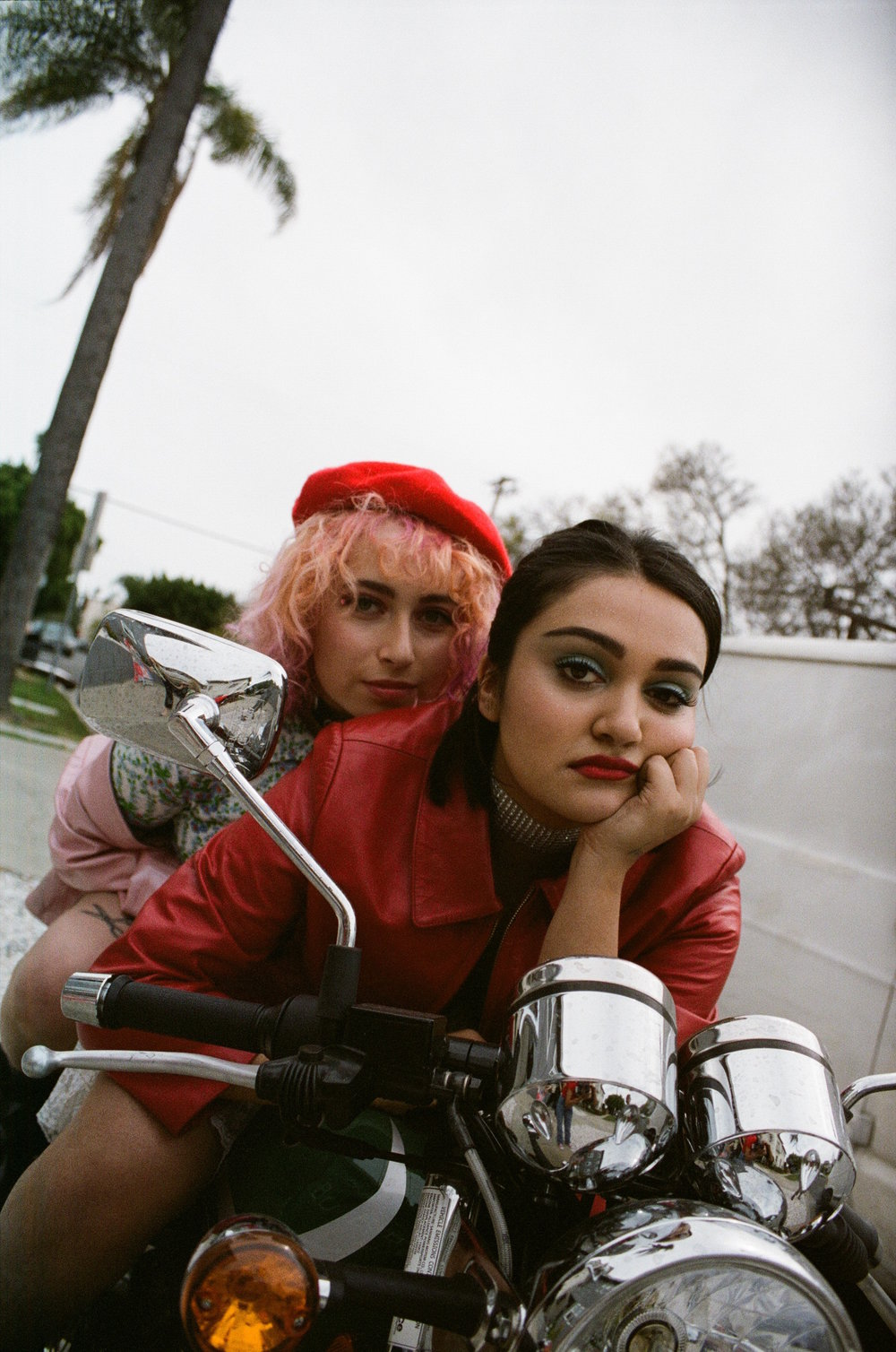 """""""If that's not the grimy shit we love but also the political activism that we write about then I don't know what is!"""" - -Ariela Barer @arielabarer[Photo 