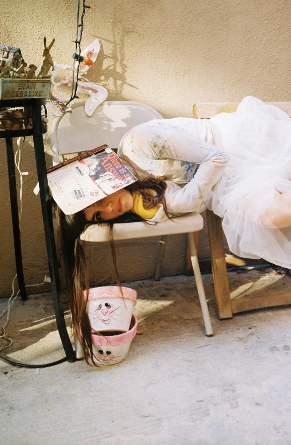"""Organized, Funny, Rich."" - - Eleisha Capris (Hazel English) on 3 words she wishes described her[Photo   Miriam Marlene]"