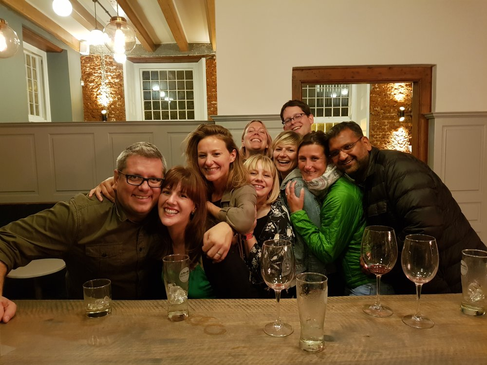 The Cape Town October 2017 crew (with a major lot missing)