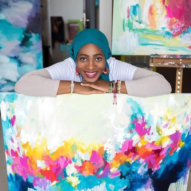 Amira Rahim Artist & Creative Coach -