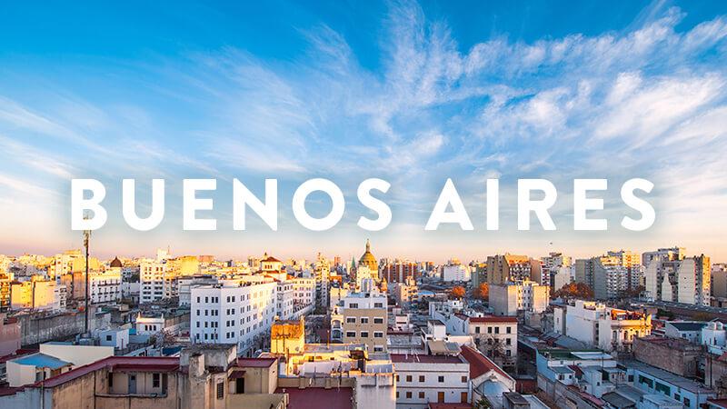 BUENOS AIRES RETREATS: MAY 2018