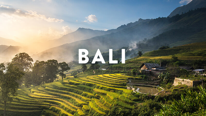 BALI RETREATS: APRIL - NOV, 2018