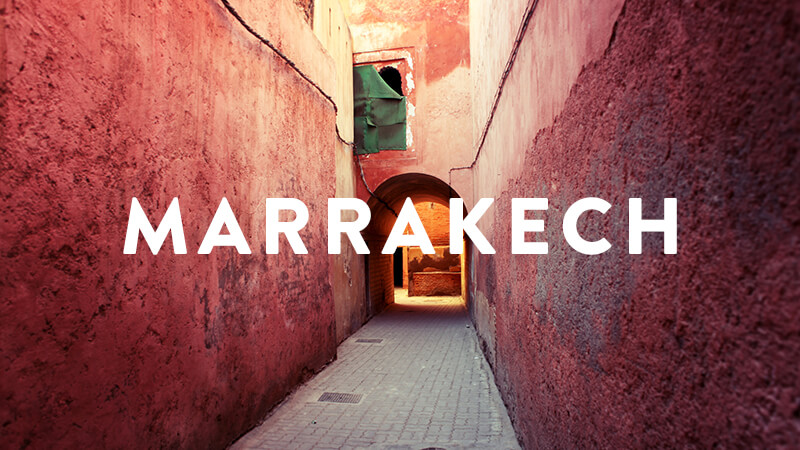 MARRAKECH RETREATS: FALL 2018