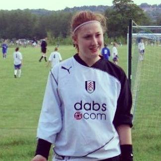 Jade, 16, kicking goals since 2004