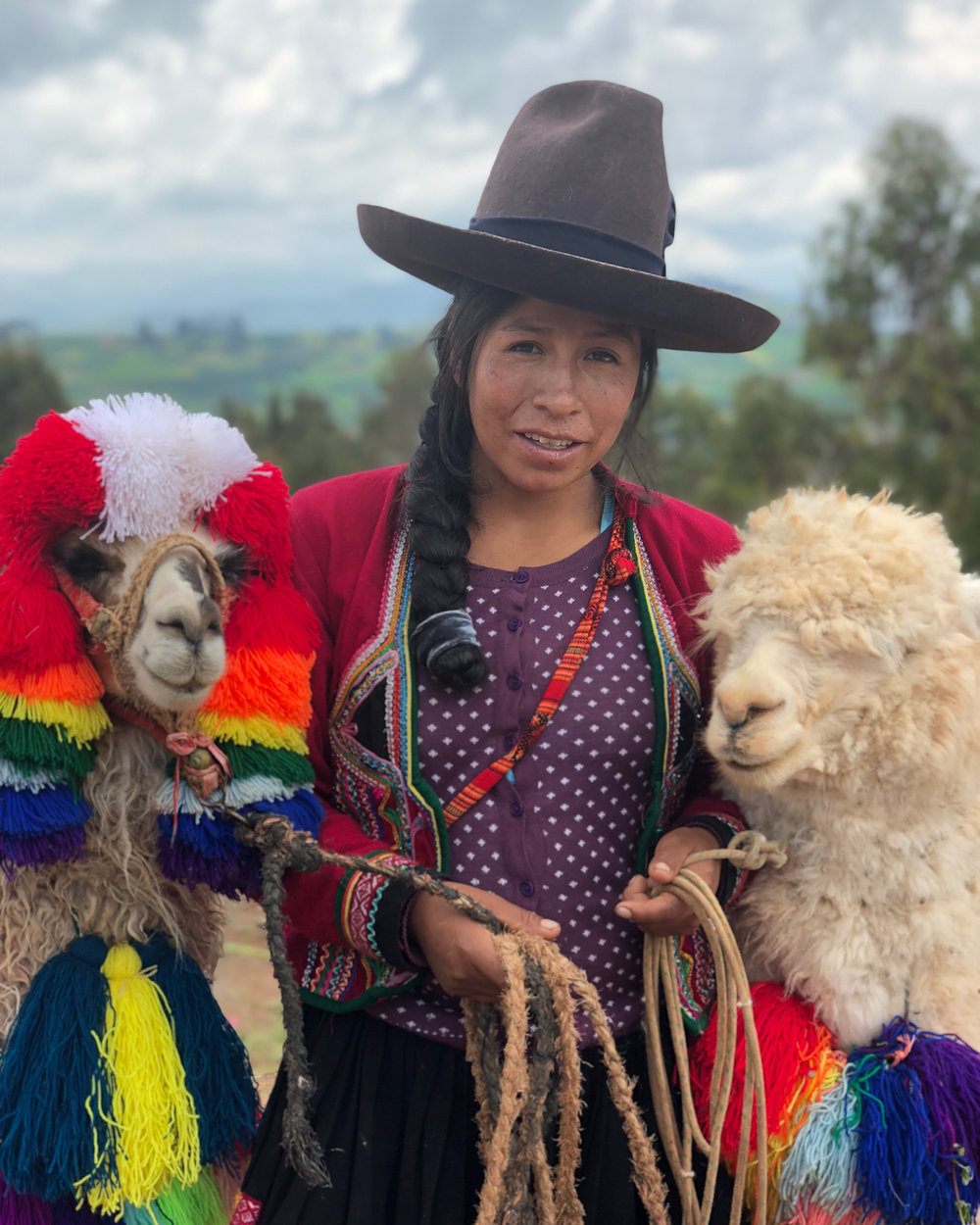 """I really appreciate that this program had so many cultures represented. It was one of my favorite aspects… I loved engaging and with the local community in Lima - having real conversations with people in the community and even the opportunities to give back and invest in the local community."" -"