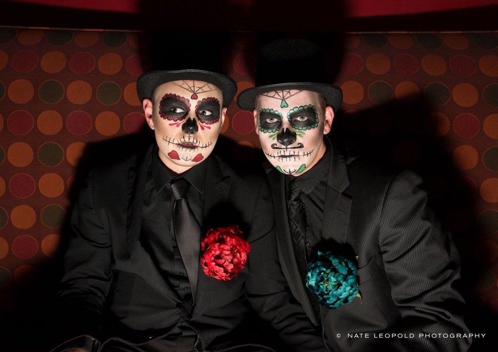 Halloween Makeup Sugar Skulls, PreauxFace New Orleans