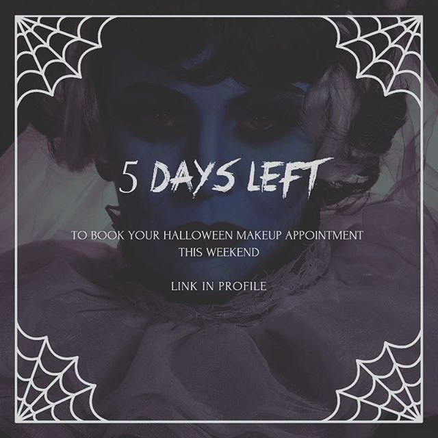We have one appointment remaining for Saturday, October 27th and more availability the rest of the weekend. Come see us first before your costume parties and Voodoo Fest! #halloween #halloweenmakeup #halloweenmakeupnola #nola #voodoofest #voodoofestival #voodoofestival2018