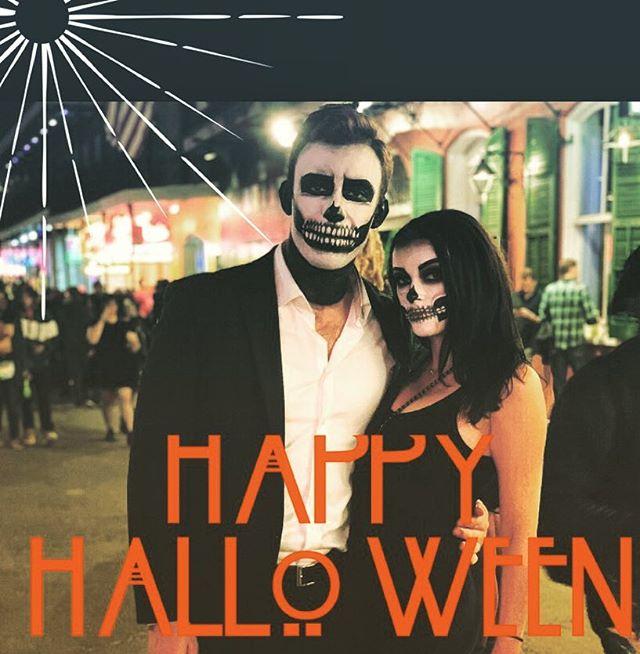 H A P P Y  H A L L O W E E N 💀💀💀💀💀💀💀💀💀 #preauxfacehalloween #art #paint #spooky #nola #halloween #halloweencostume #halloweenmakeup
