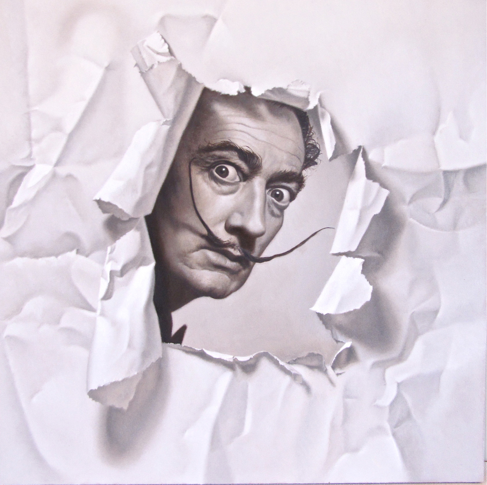 Turned Page: Dali