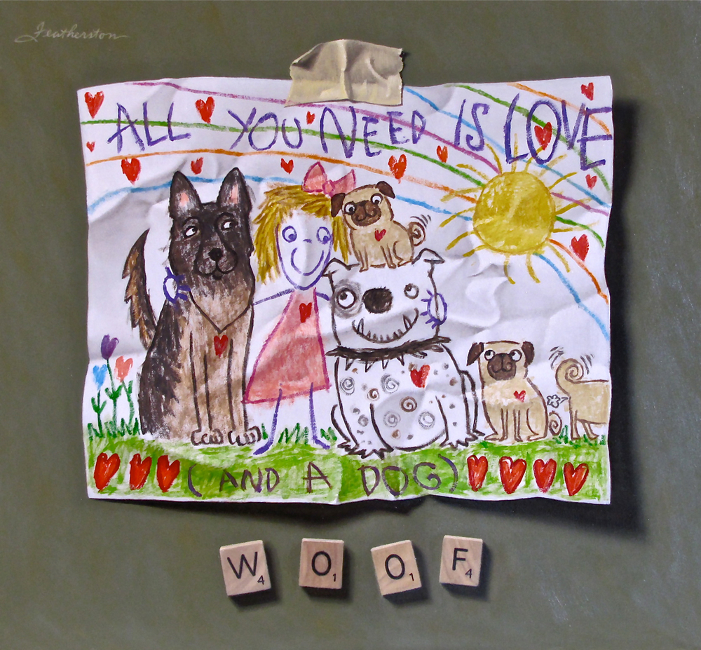 Young Artist Shows Promise: Woof
