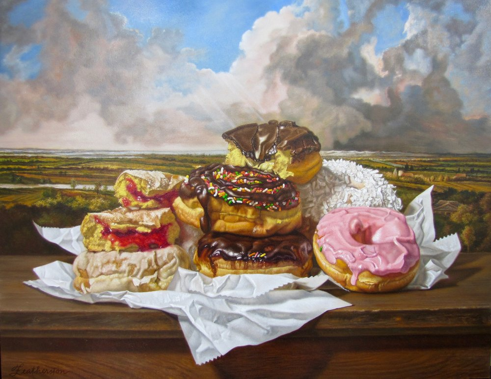 Donuts in a Dutch Landscape
