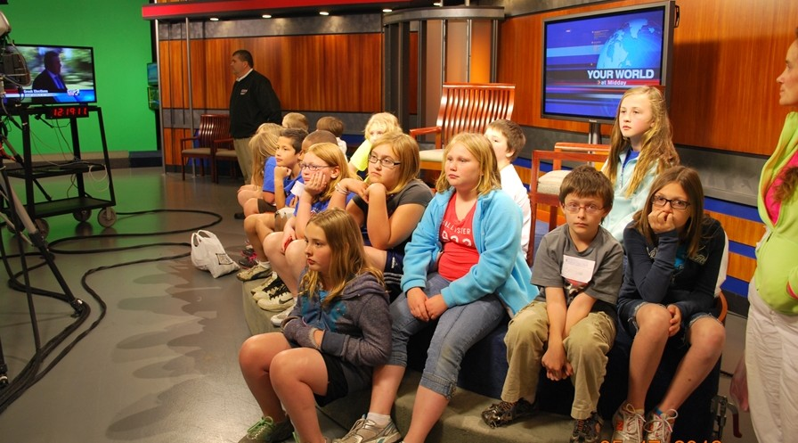 Seven teachers received a 2011-12 grant to expand their 4th grade students understanding of economics. They took a field trip to the WSBT stations and the South Bend Chocolate Factory.