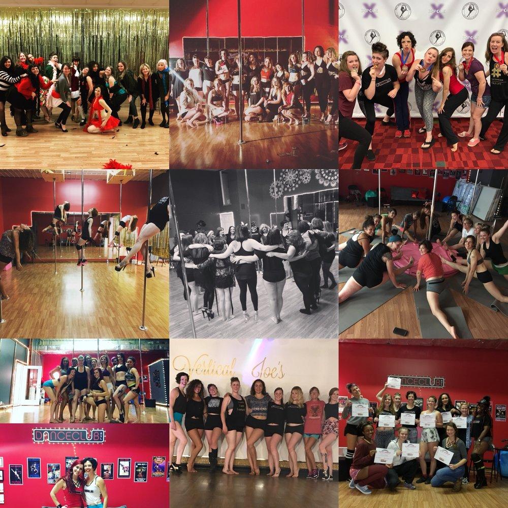 Pole dance, burlesque, hip hop and twerk aerobics in Asheville, NC