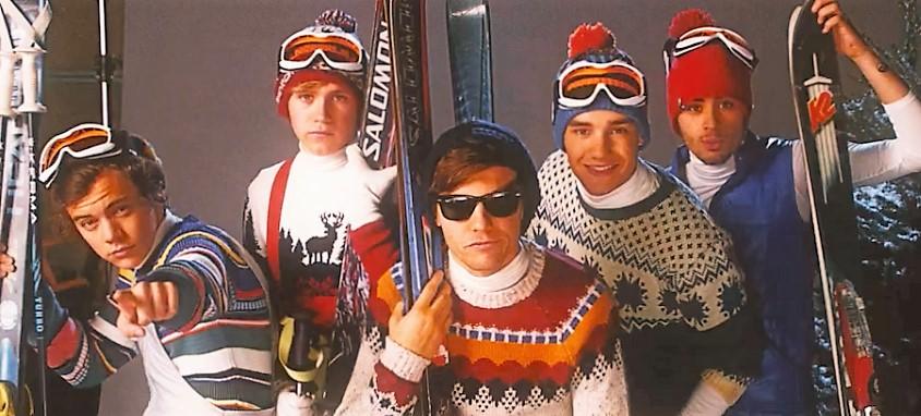 One Direction  Ski Photo