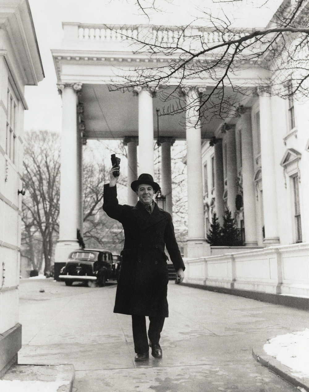 Marcel Sternberger leaving the White House, Washington, D.C., 1939