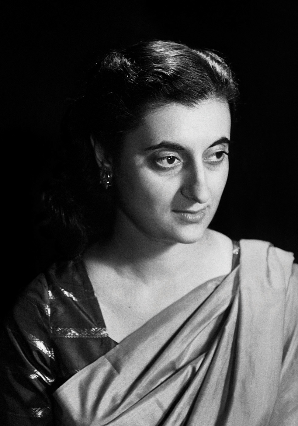Indira Gandhi, New York, 1949