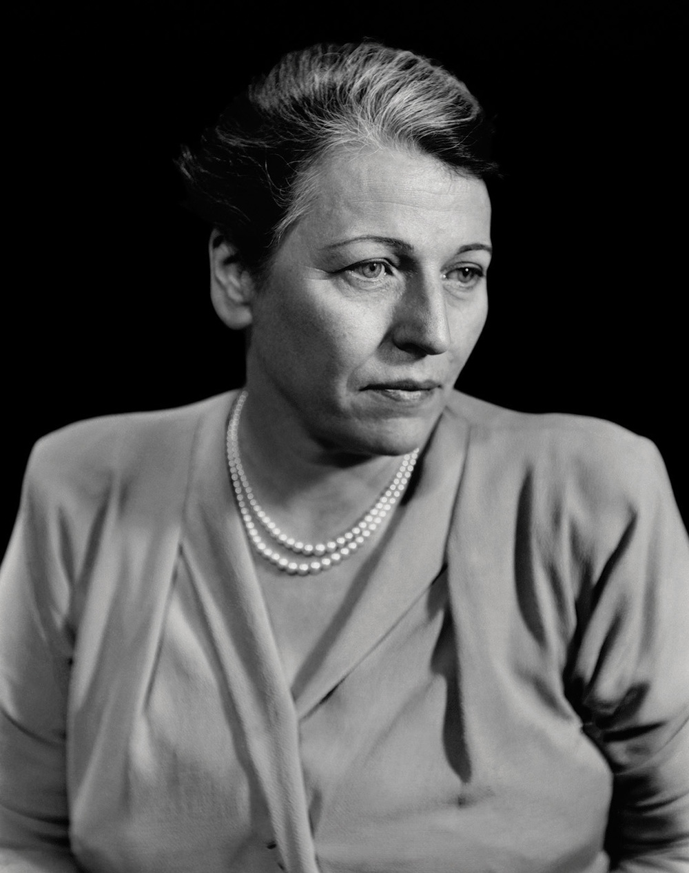 Pearl S. Buck, New York, 1948