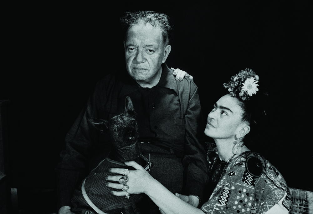Diego Rivera and Frida Kahlo, Mexico, 1952