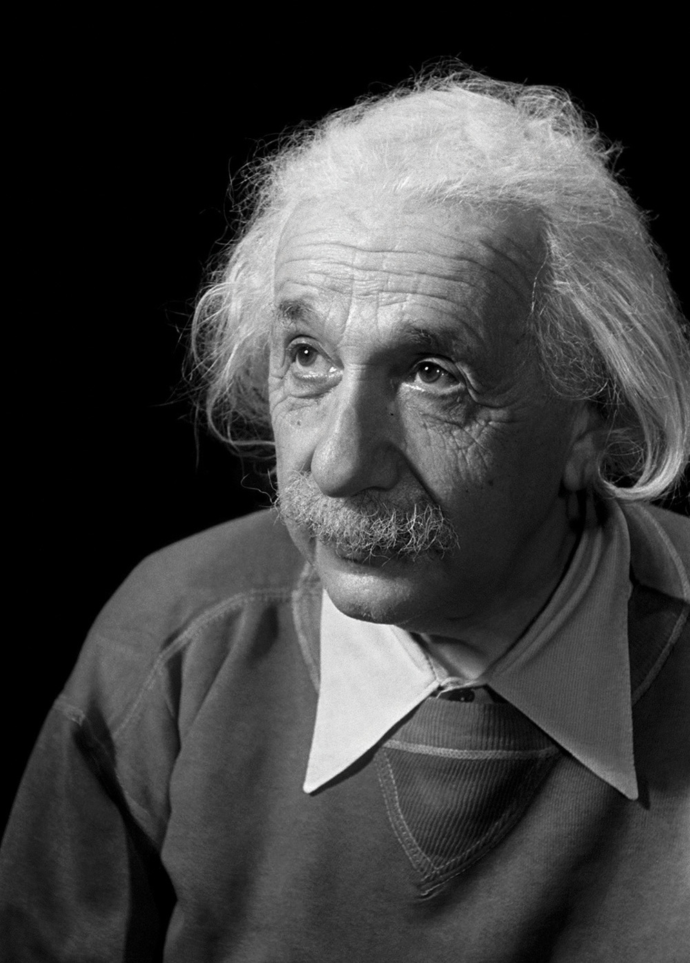 Albert Einstein, Princeton, New Jersey, 1950