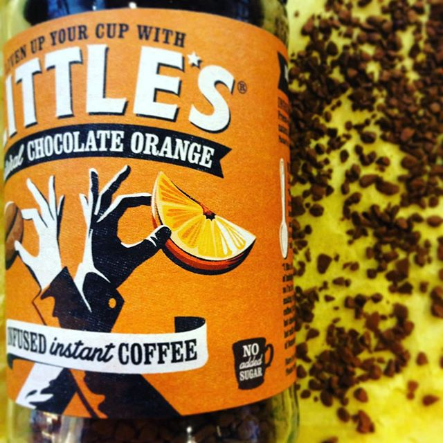 Natural Chocolate Orange instant coffee☕️ Hva passer vel bedre til påsketuren?  #instantcoffee #wearelittles #orange #chocolate