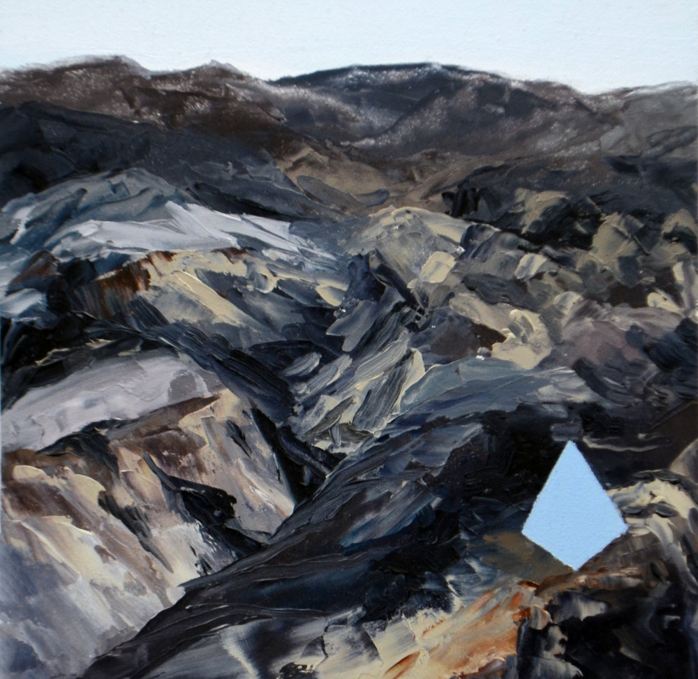 Iceland.  Oil on panel.  6 x 6.