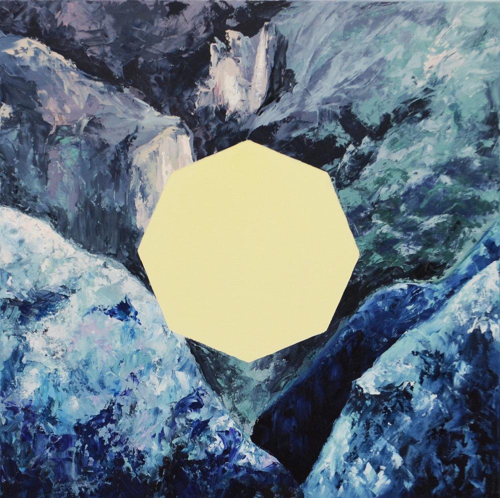 Pinnacle.  Oil on Canvas.  32 x 32.