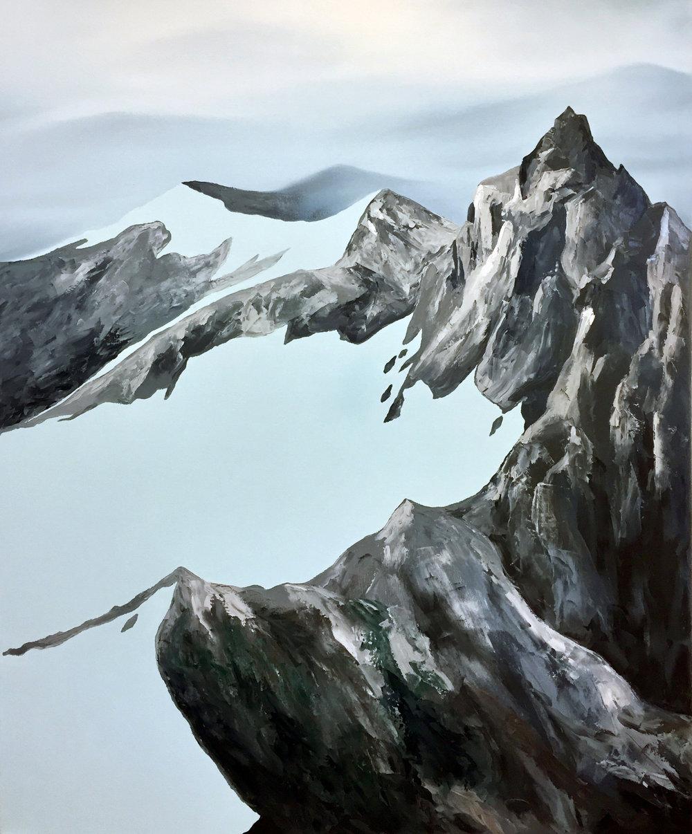 Thielsen.  Oil on Canvas.  40 x 48.
