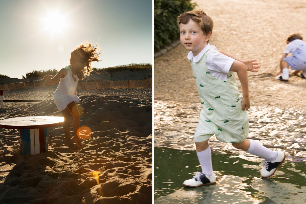 Energetic Hamptons Child Photography