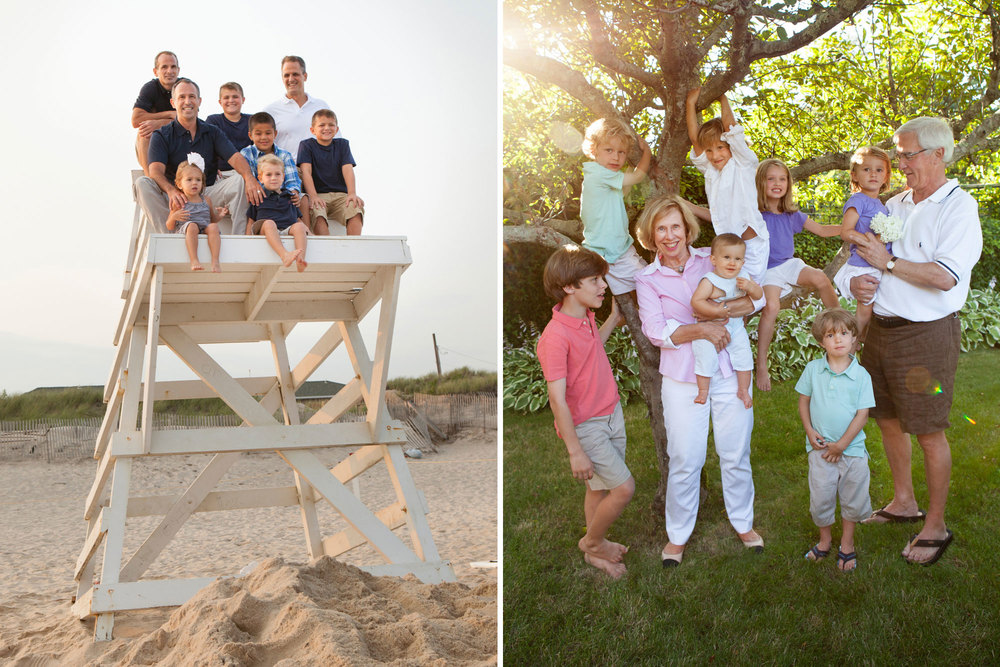 Best Hamptons Extended Family Photography