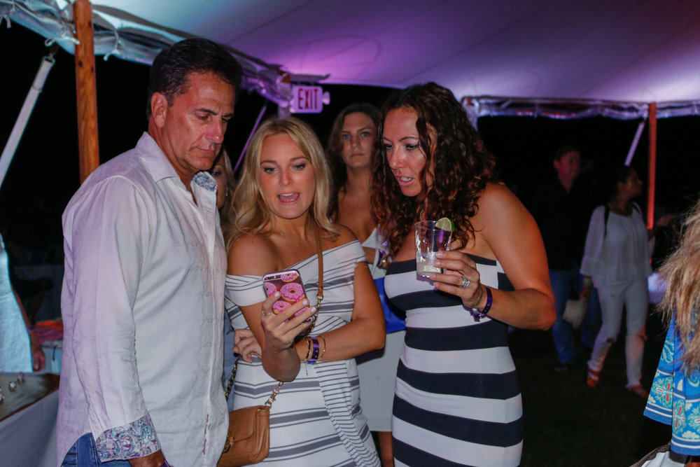 Social Life Mag sponsors the sixth annual St. Barth's Gala in Bridgehampton, NY.