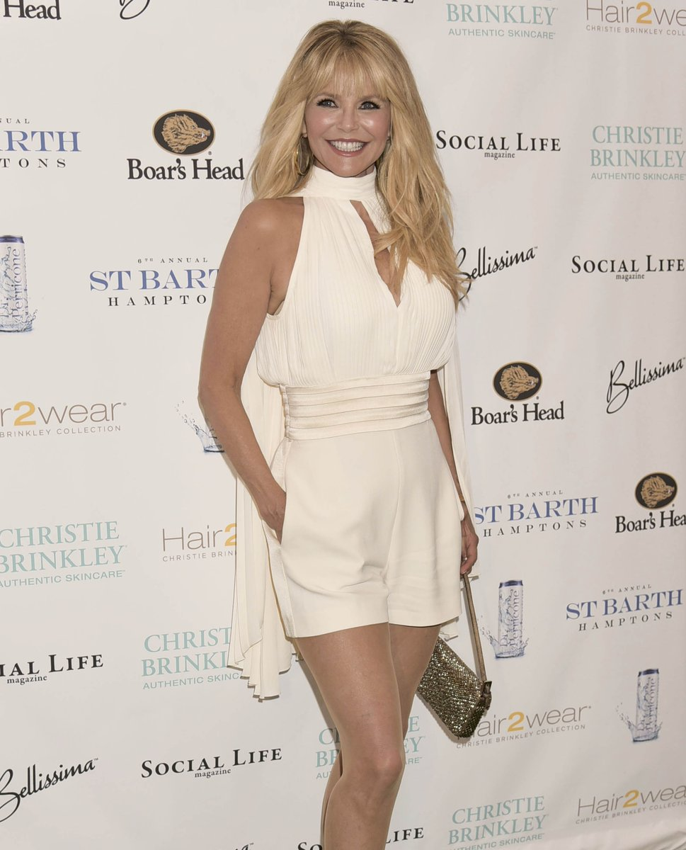 Christie Brinkley at St. Barth's Gala 2017