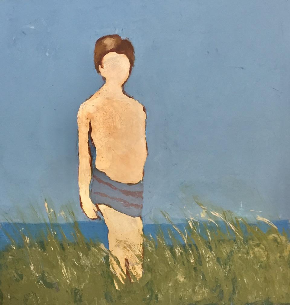 """Lucille Khornak Gallery presents, """"Golden Boy,"""" by Lynn F. Walker"""