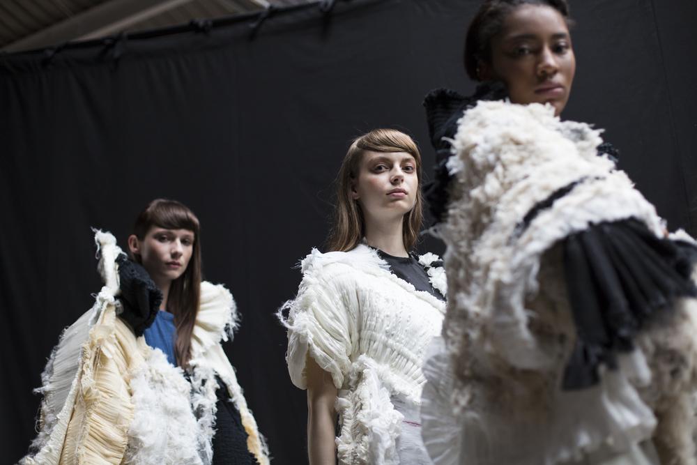 Edinburgh college of art fashion show tickets Catwalk Schedule Graduate Fashion Week