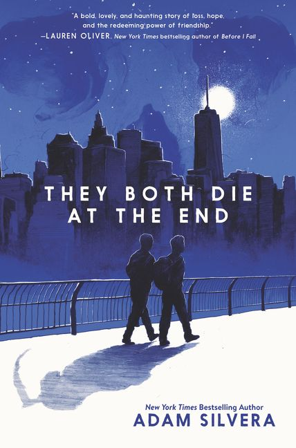 """Nicky Gover, Graphic Designer: """"I'm reading They Both Die at the End by Adam Silvera. A friend recommended this to me and I was really fascinated by the premise — two people are called and given 24 hours notice before their death. The story is about how they spend that last 24 hours."""" -"""