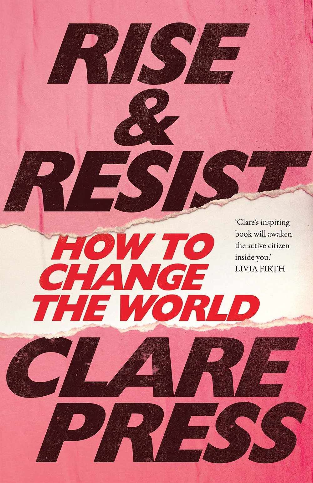 """Megan Doyle, Digital Editor: """"I'm reading Rise and Resist: How to Change The World, a fantastic book by Australian fashion journalist Clare Press. It's all about the history and resurgence of activism through revolutionary acts of protest, craftivism and grassroots movements around the world. It's inspiring to read that small acts of rebellion can affect global change!"""" -"""