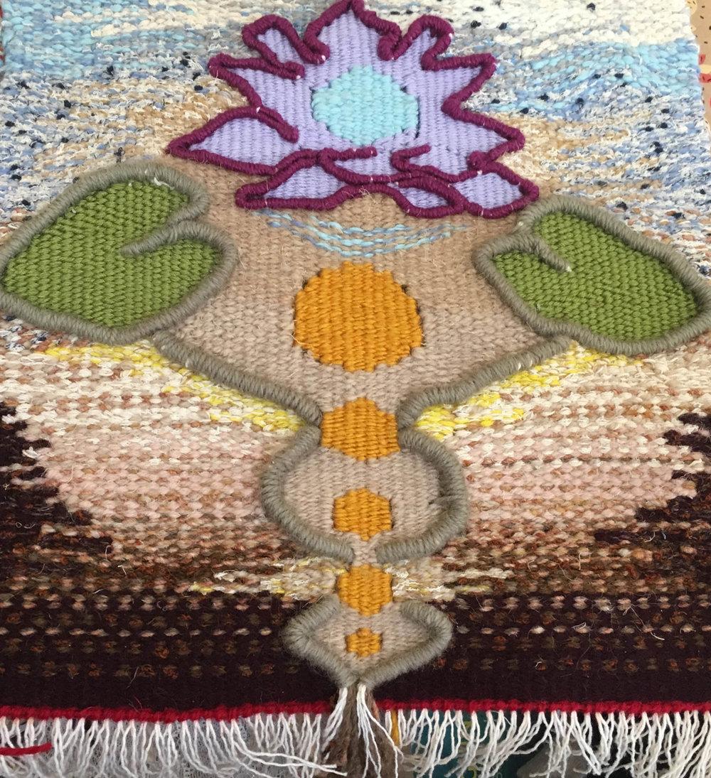 Rosie May Jones Waterlily Weaving