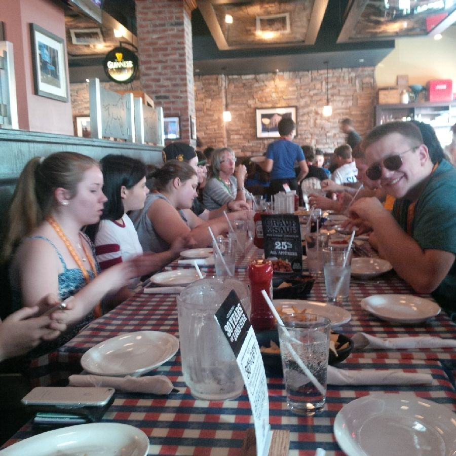 Team dinner in the Byward Market