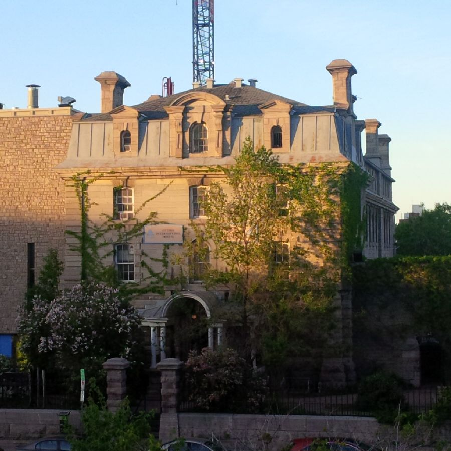 Our hostel - formerly the Carleton County Jail. Fine accommodations, fascinating history, few ghosts.