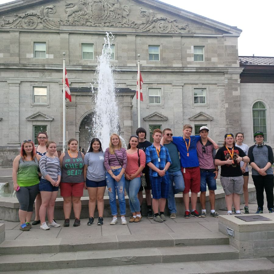 Rideau Hall - where the DHP received the Governor General's Award for History Teaching