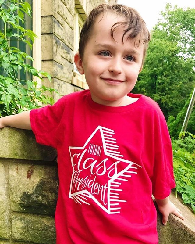 "Is your kiddo an aspiring ""Future Class President"" like mine?  This design, and FIVE (!!) others are part of today's Feature Friday and can be grabbed at 30% off with the code FEATUREFRIDAY.  Only at http://threadandgrain.com/featurefriday . . . #threadandgrain #backtoschool #schoolshirts #futureclasspresident #classpresident #smartkids #svg #silhouettecameo #svgfiles #cricut #vector #silhouette #silhouettestudio #dxf #silhouetteportrait #silhouettecameo3 #cutfiles #cricutexplore #vectorart #tgfeaturefriday #cricutmaker #createwithcricut"