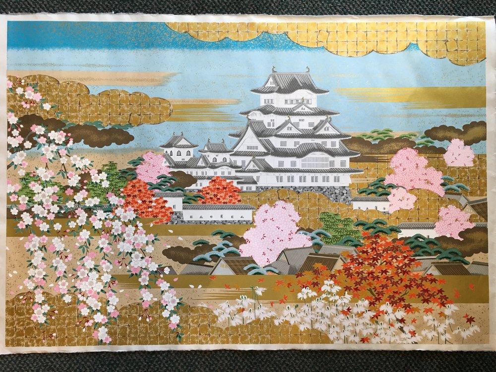 Himeji Castle White