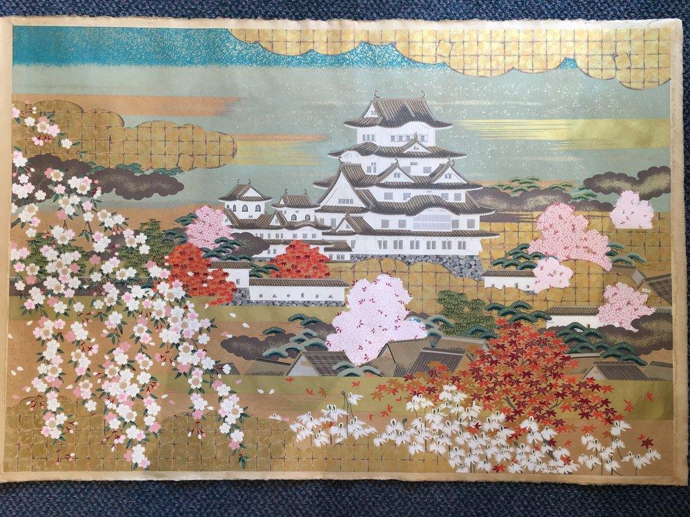 Himeji Castle Kakishibu (Brown)