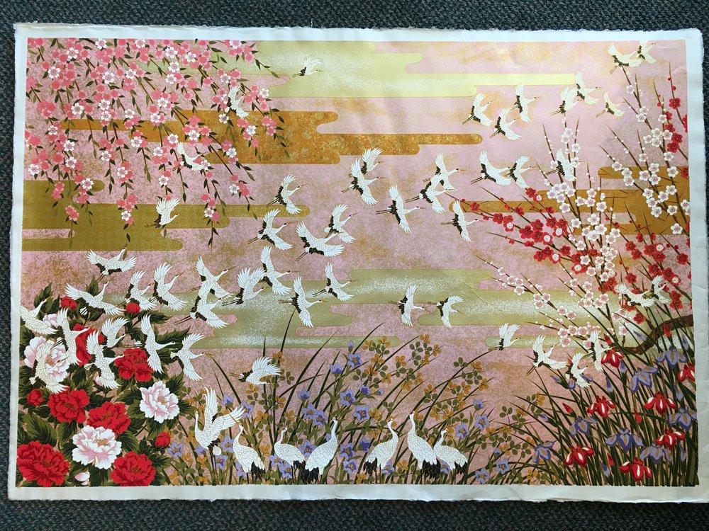 Tsuru Flowers White