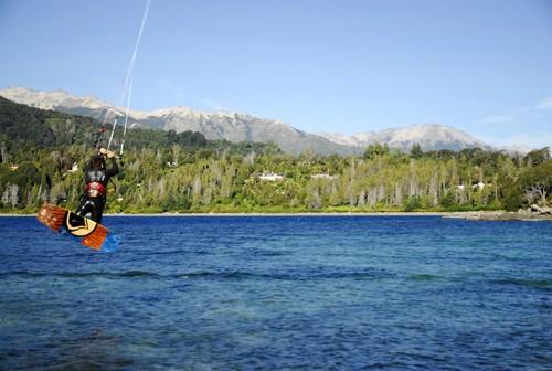 Resultado de imagen para kitesurf villa la angostura