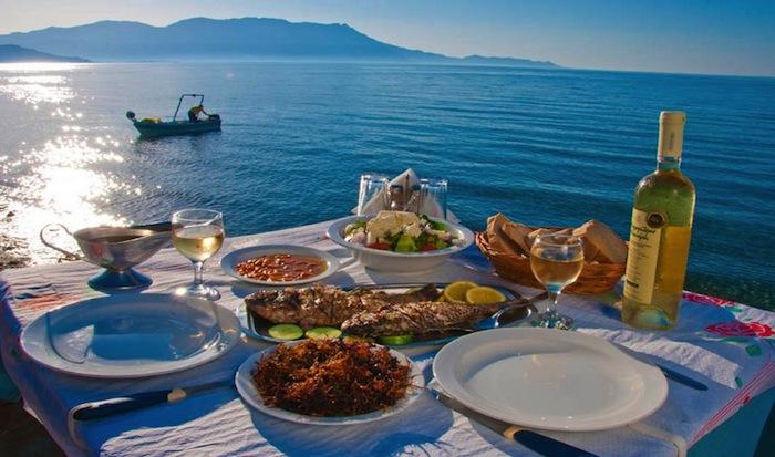 enjoy a taste of greece with chef Brian adornato.