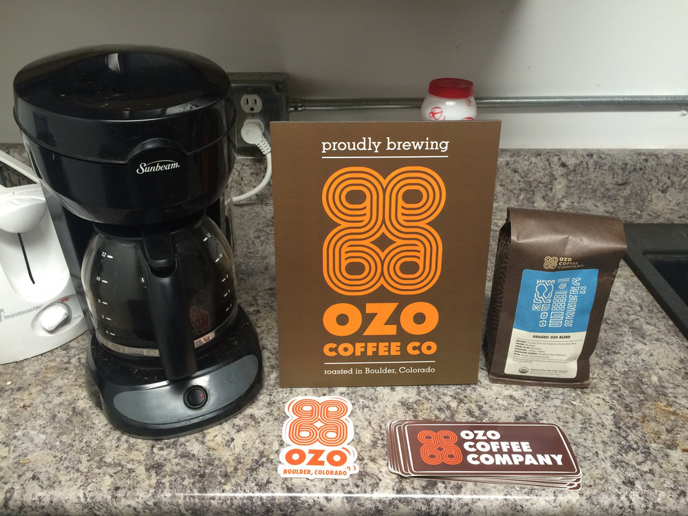 We proudly serve Ozo coffee to our co-workers at Spark.