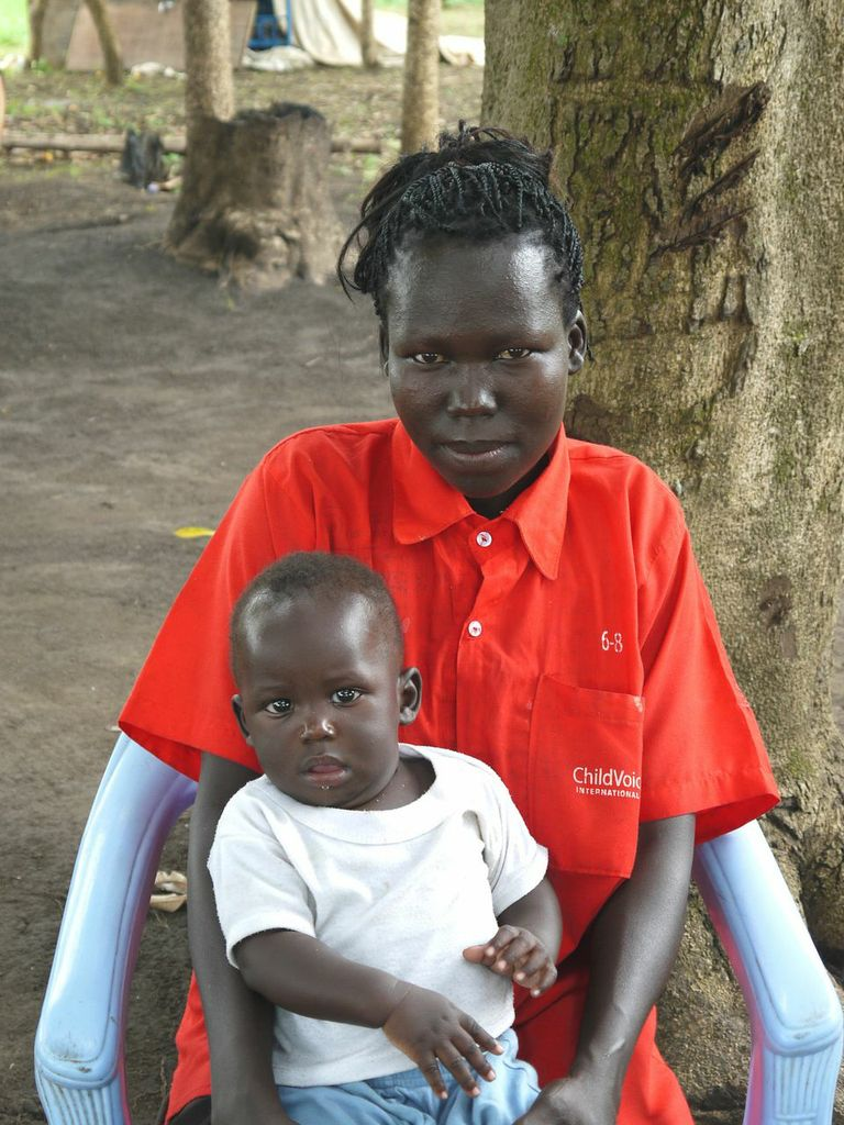 Beatrice walked — often for several weeks at a time — through four countries, but has returned to Uganda and begin a new life with family at ChildVoice's Lukome Center.