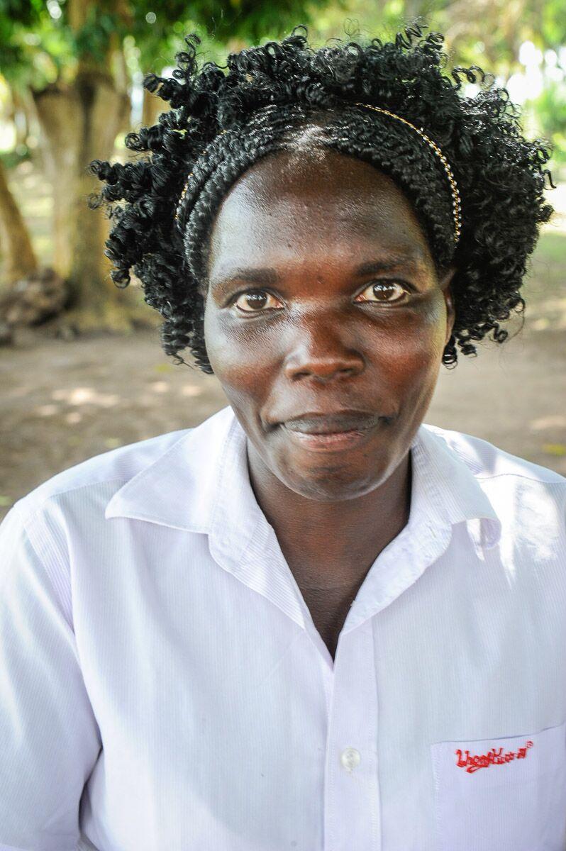 <strong>Monica Akwero</strong><br>Sweater Weaving Teacher