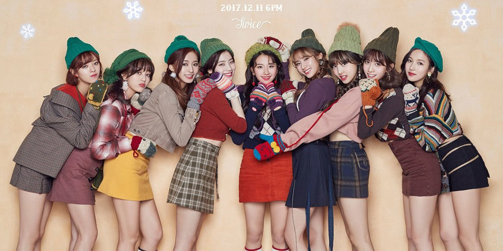 Twice Brings Holiday Cheer With Repackage Merry Happy The Kraze