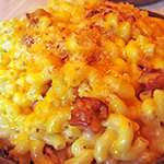 MACARONI + CHEESE